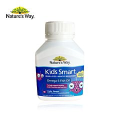 Nature's Way 佳思敏儿童鱼油DHA液体胶囊 黑加仑味 50粒