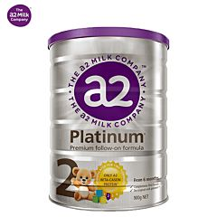 A2 白金版婴儿奶粉2段(6-12个月) 900g (新版)