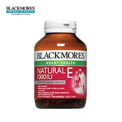 Blackmores天然维生素E软胶囊 1000IU 100粒