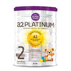 A2 白金版婴儿奶粉2段(6-12个月) 900g