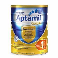 Aptamil Gold 澳洲爱他美金装婴儿奶粉1段 (0-6月) 900g