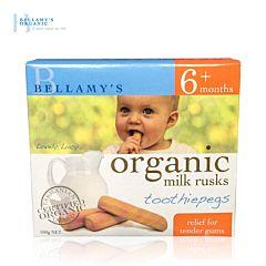 Bellamy's 贝拉米婴儿有机磨牙棒饼干 无糖  (6月以上)  12支