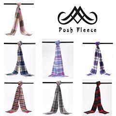 Posh Fleece 澳洲美利奴羊毛围巾 格纹系列三
