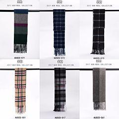 UGG Auzland 澳洲美利奴羊毛围巾 格纹系列四