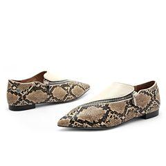 (包邮)DK UGG 18春夏新款女鞋 DK616  Lauren蛇纹平底鞋