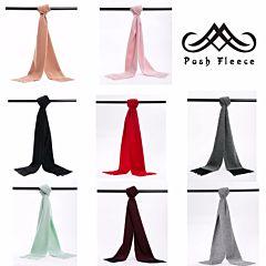Posh Fleece  澳洲美利奴羊毛围巾 纯色系列