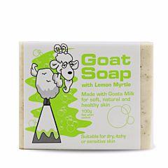 Goat Soap 纯天然 山羊奶皂 (柠檬味) 100g