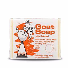 Goat Soap 纯天然山羊奶皂 (燕麦) 100g