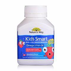Nature's Way 佳思敏儿童鱼油DHA液体胶囊 草莓味 50粒