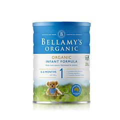 Bellamy's 贝拉米有机婴幼儿配方奶粉1段(0-12月) 900g 新版