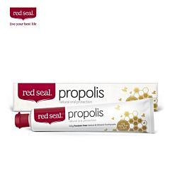 Red seal 红印 天然蜂胶牙膏 缓解牙齿发炎/出血 100g