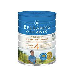 Bellamy's 贝拉米有机婴幼儿配方奶粉4段(3岁以上) 900g