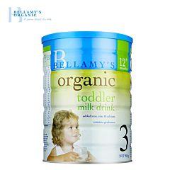 Bellamy's 贝拉米有机婴幼儿配方奶粉3段(1岁以上) 900g