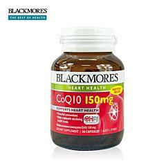 Blackmores 辅酶Q10 保护心脑血管 150mg 30粒