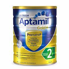Aptamil Gold 澳洲爱他美金装婴儿奶粉2段 (6-12月) 900g