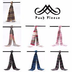 Posh Fleece 澳洲美利奴羊毛围巾 格纹系列二