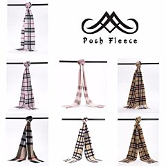 Posh Fleece 澳洲美利奴羊毛围巾 格纹系列四