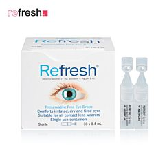 Refresh 抗疲劳滴眼液/眼药水 30x0.4ml/只(独立装 无防腐剂)