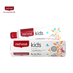 Red seal 红印 儿童天然无氟牙膏 防蛀齿/可吞咽 75g